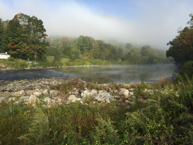 Housatonic River in West Cornwall, CT