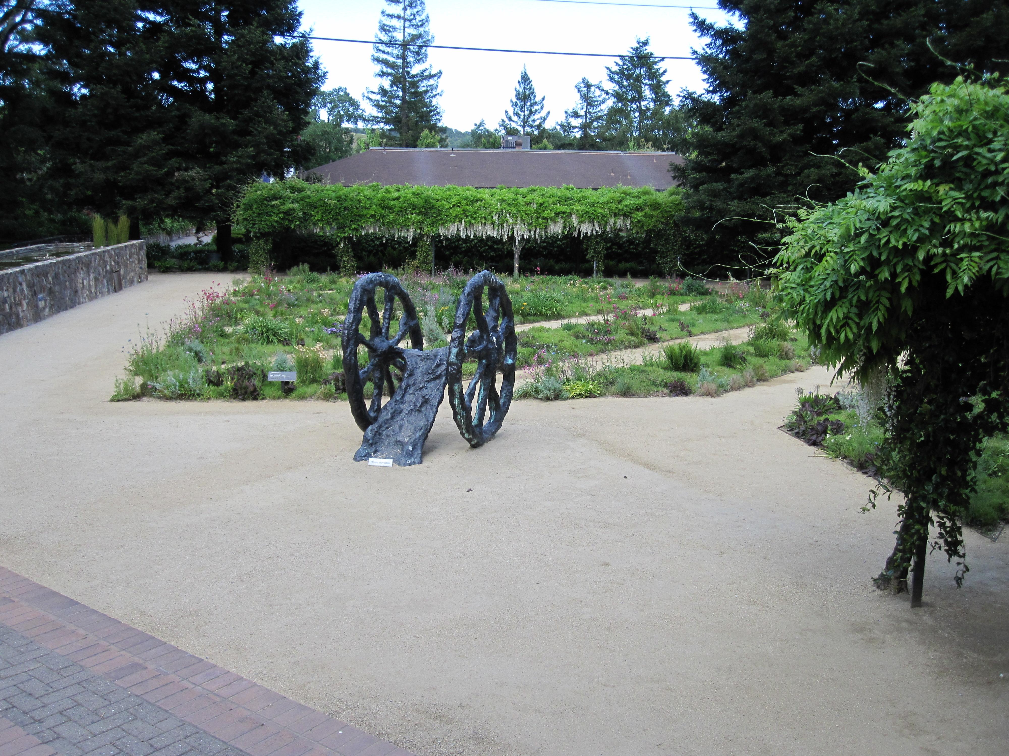 Hess Winery garden