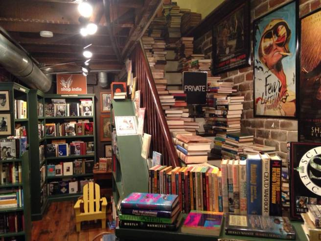 Book Lady Bookstore, Savannah, GA