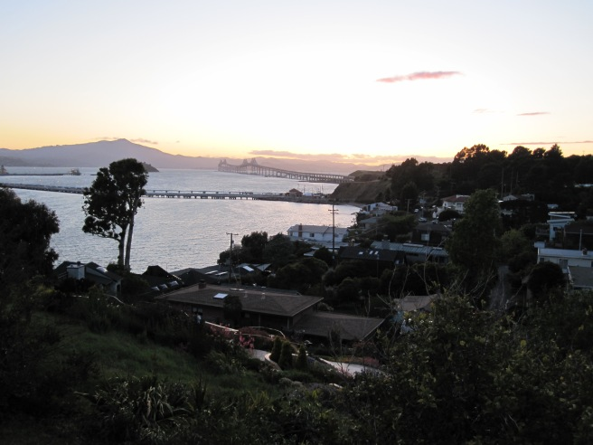 Sunset over San Francisco Bay