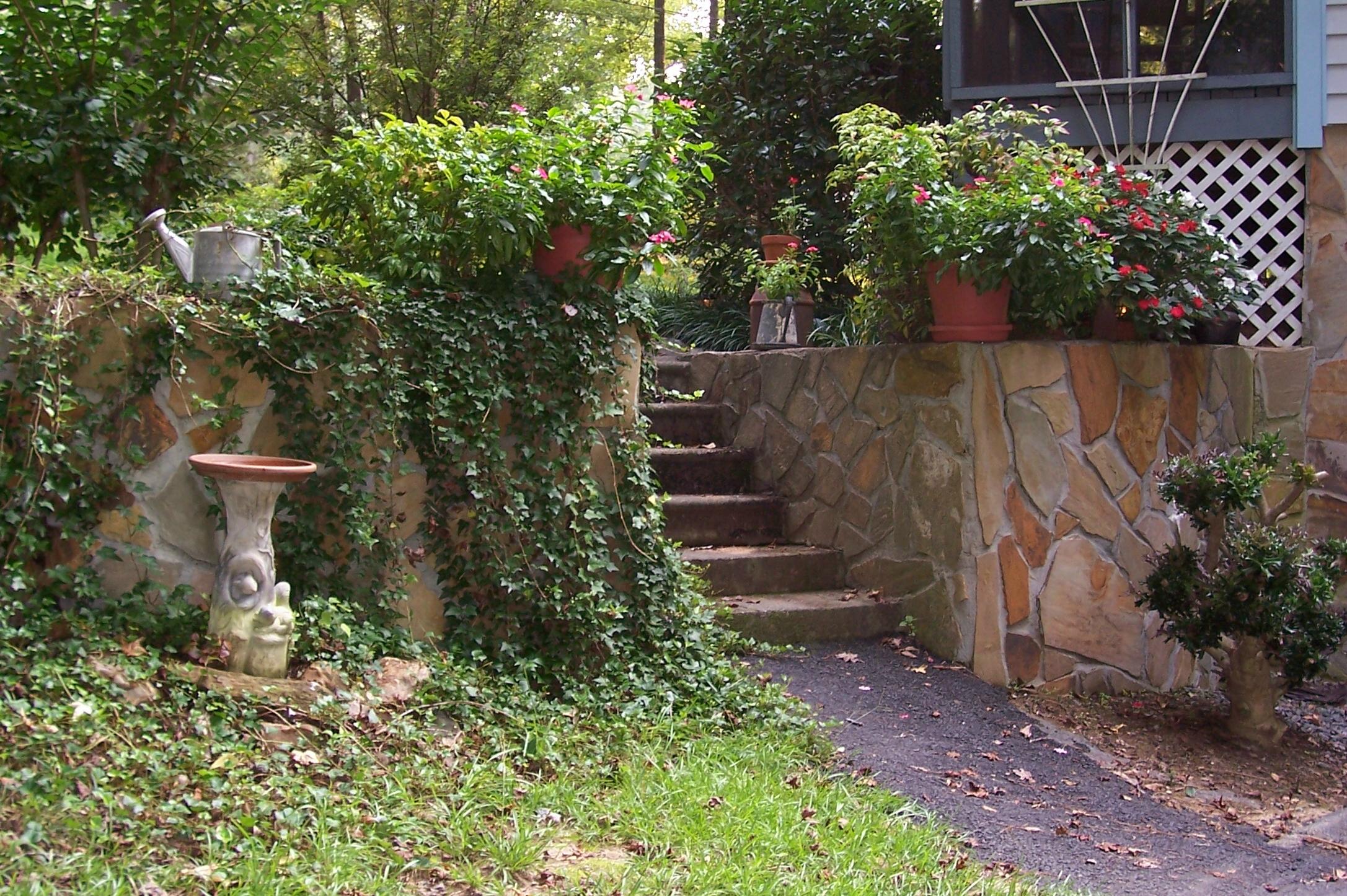Entry way garden