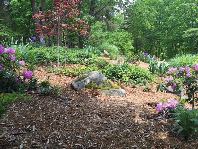 Front island garden