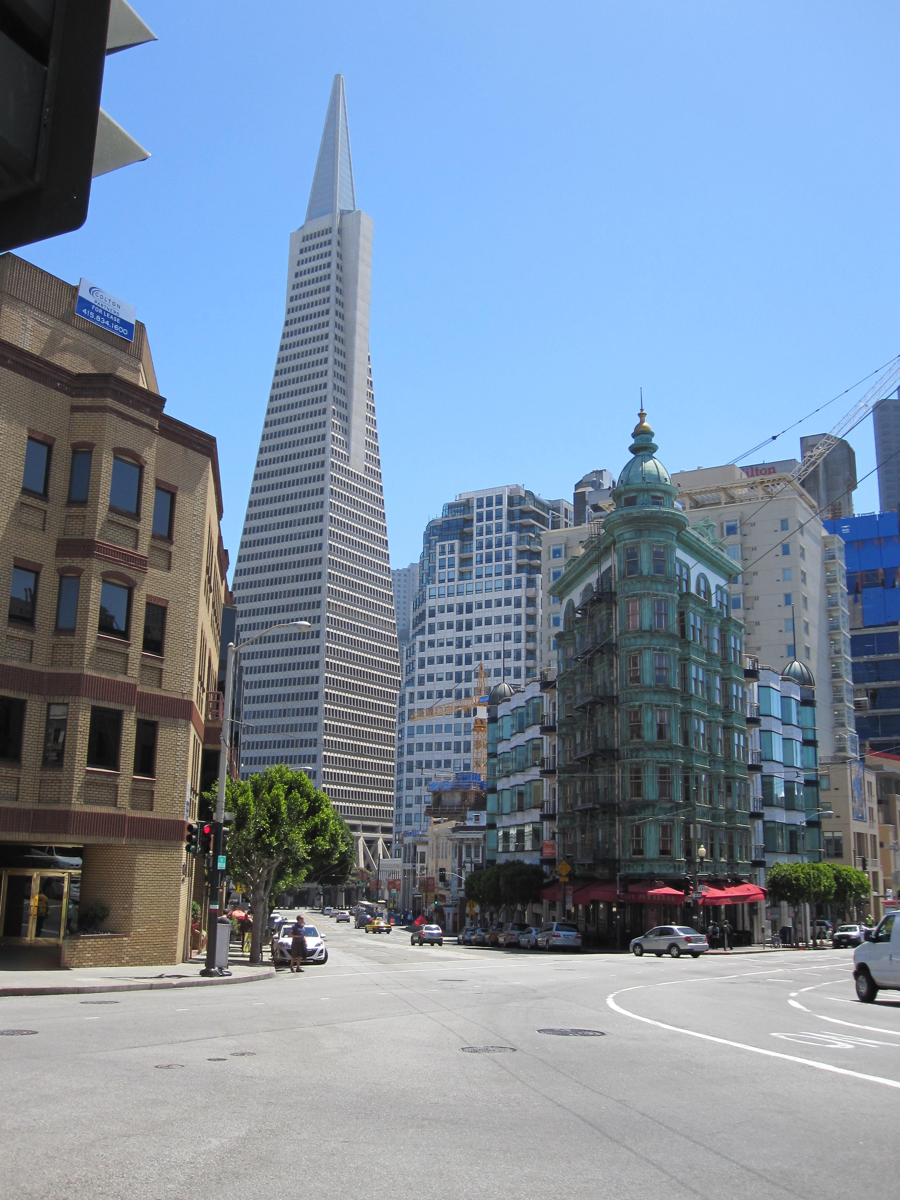 Transamerica building in San Francisco