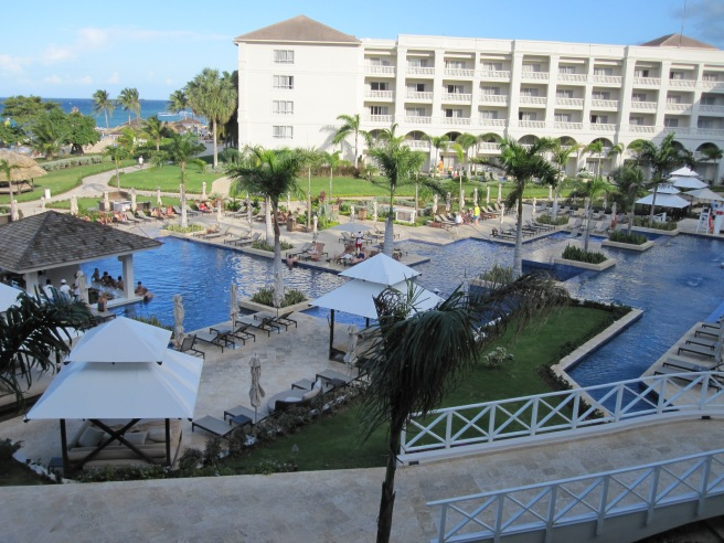 Balcony view, Hyatt Zilara, Montego Bay, Jamaica