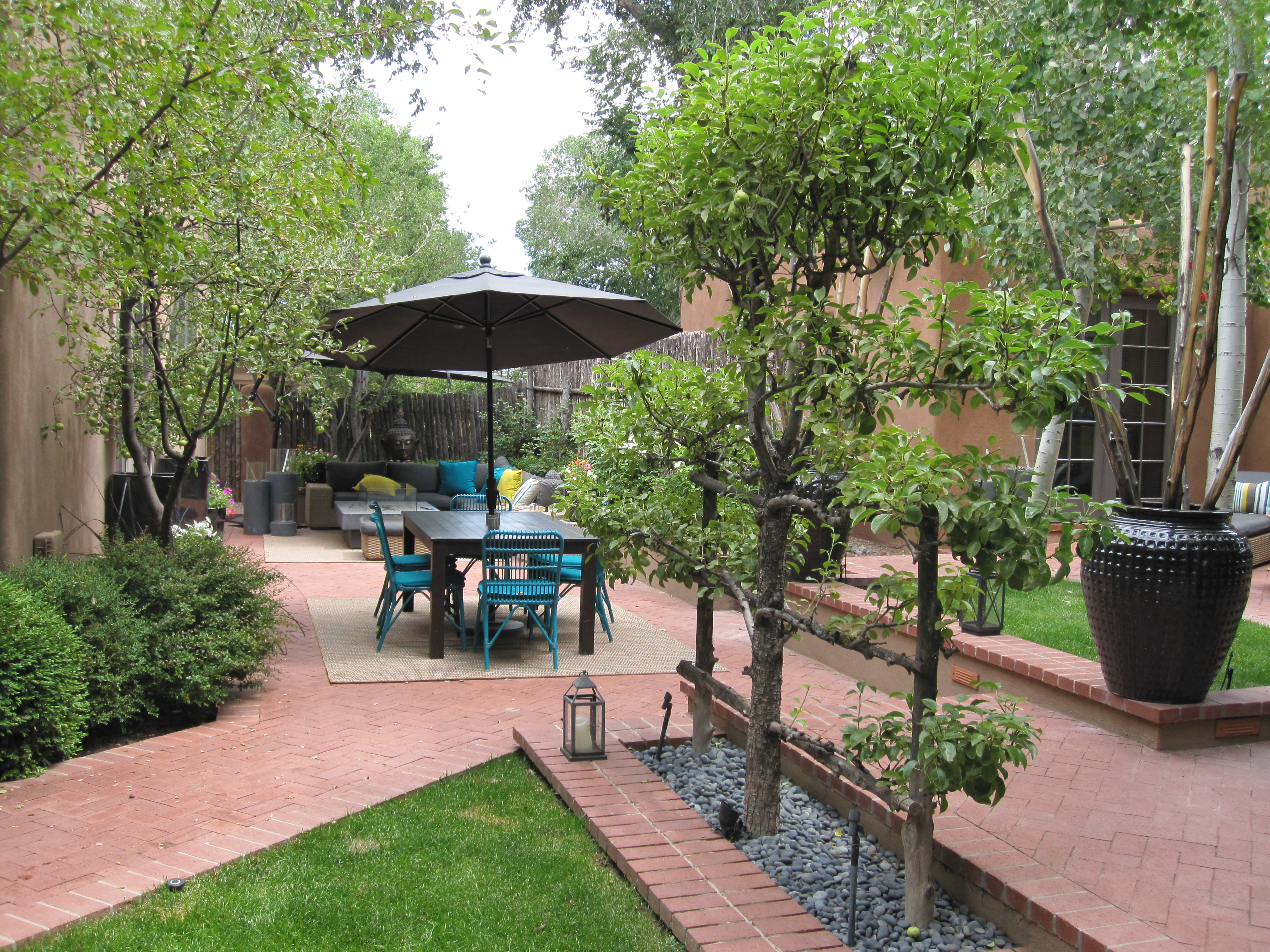 Our casita on Canyon Road in Santa Fe, NM