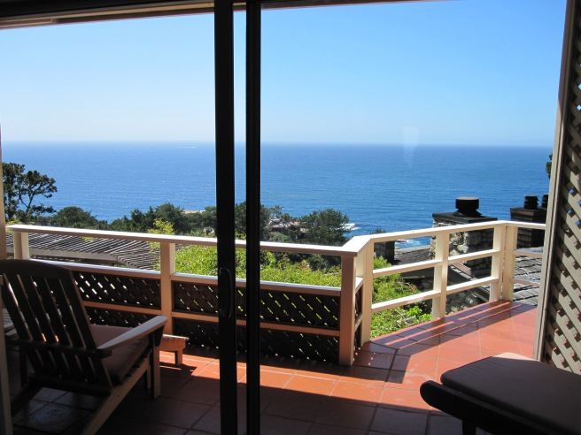 Balcony, Tickle Pink Inn, Carmel-By-The-Sea, CA