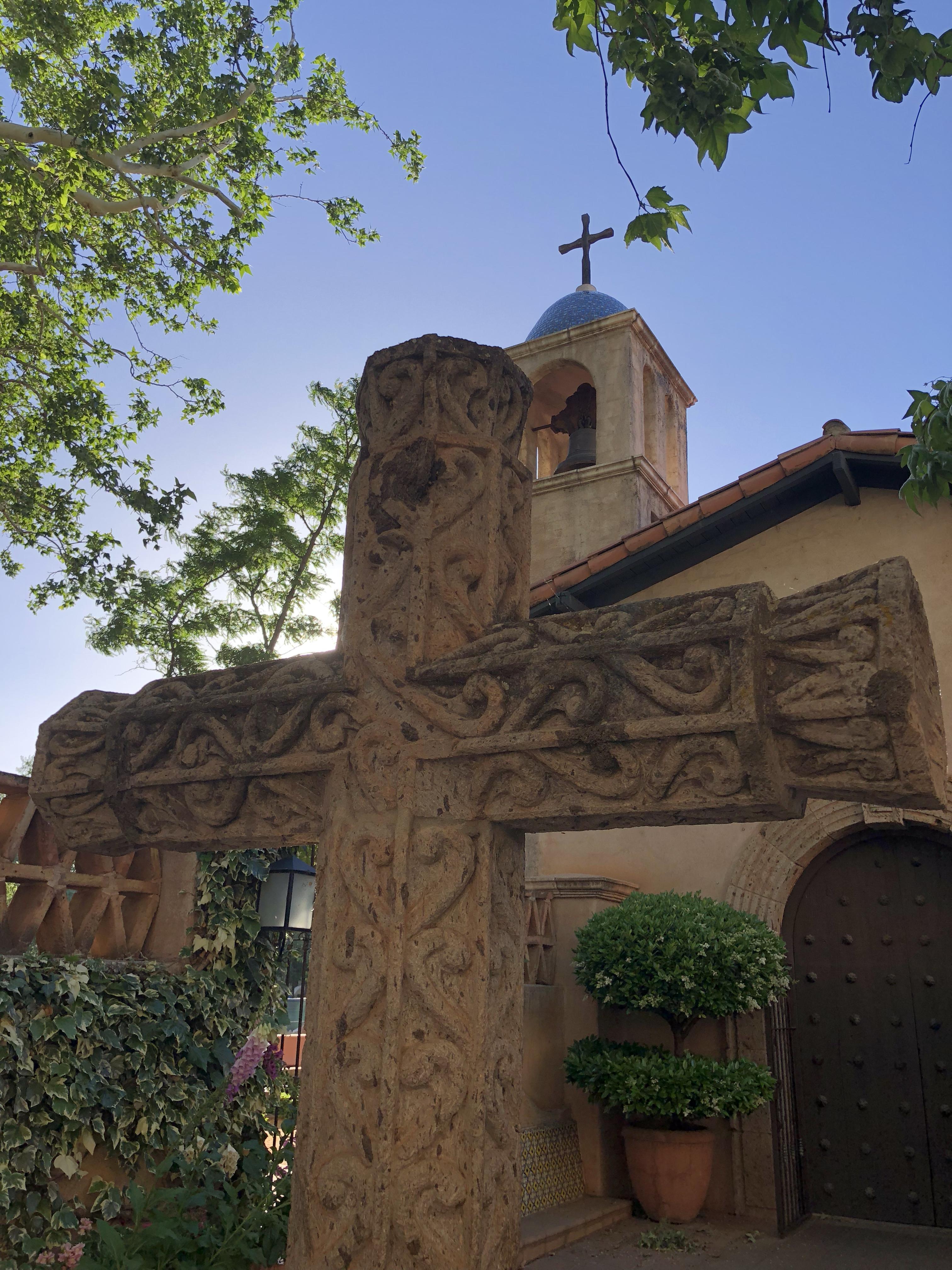 The chapel at Tlaquepaque Arts and Crafts Village