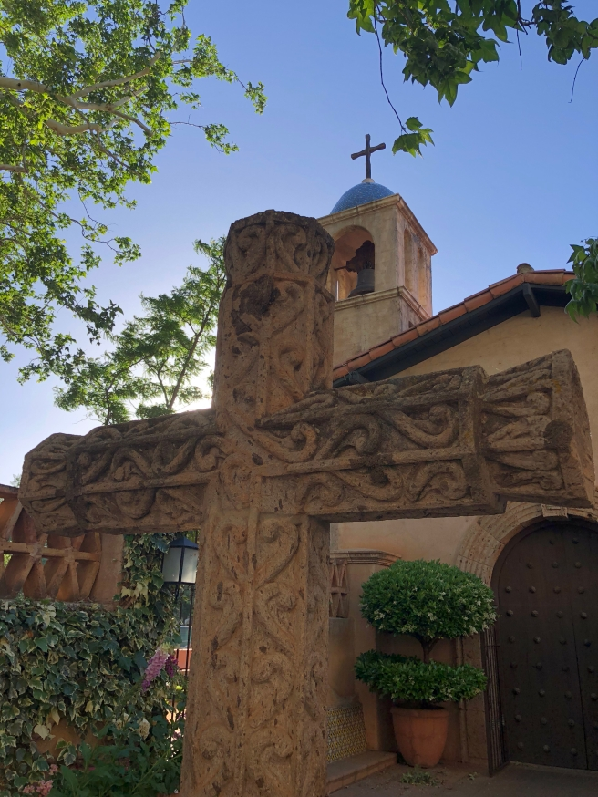 The chapel at Tlaquepaque Arts and Crafts Village