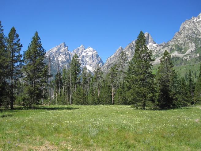 Grand Tetons near Jenny Lake