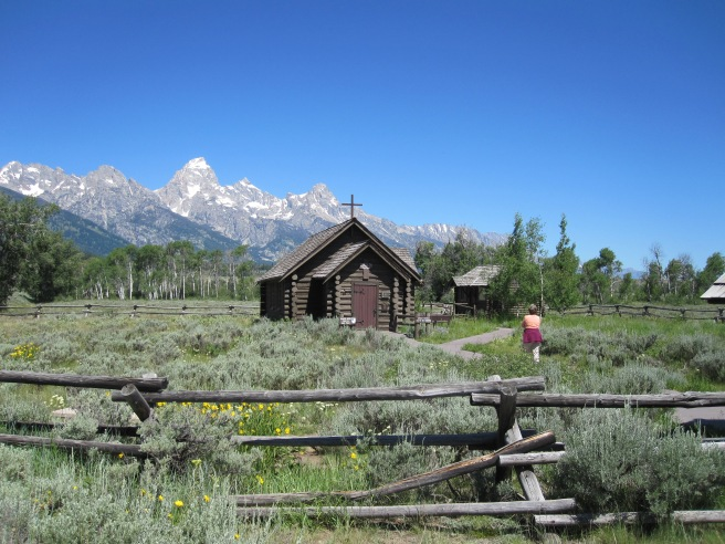 Grand Tetons - Chapel of the Transfiguration