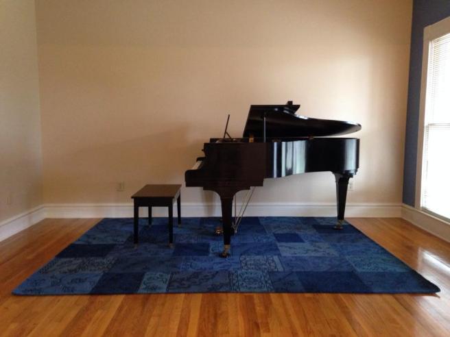 Howard baby grand piano