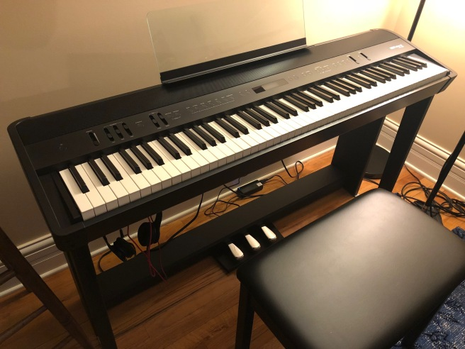 My Roland FP-90 keyboard