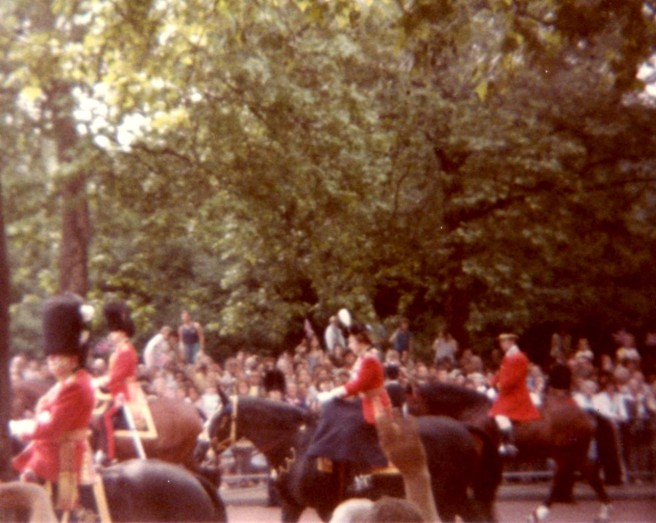 Queen Elizabeth II - Trooping the Colour