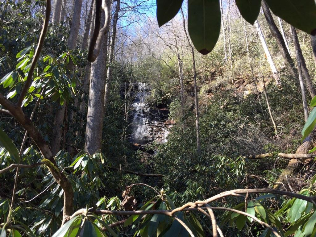 Waterfall near Tate City, Georgia